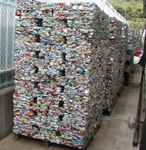 アルミ缶のリサイクル製品
